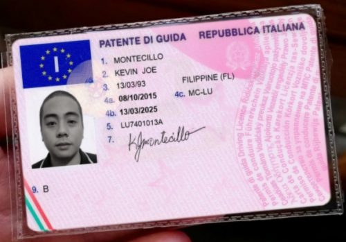 Italy Driver's License - Immigration Solutions Ltd